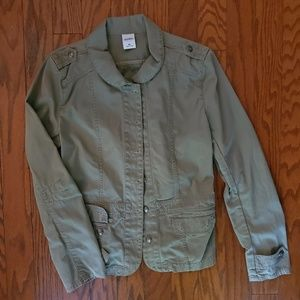 Old Navy Military green jacket